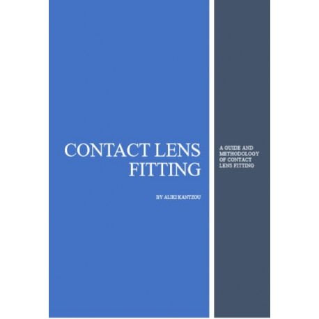 Guide of Contact Lens Fitting by Aliki Kantzou